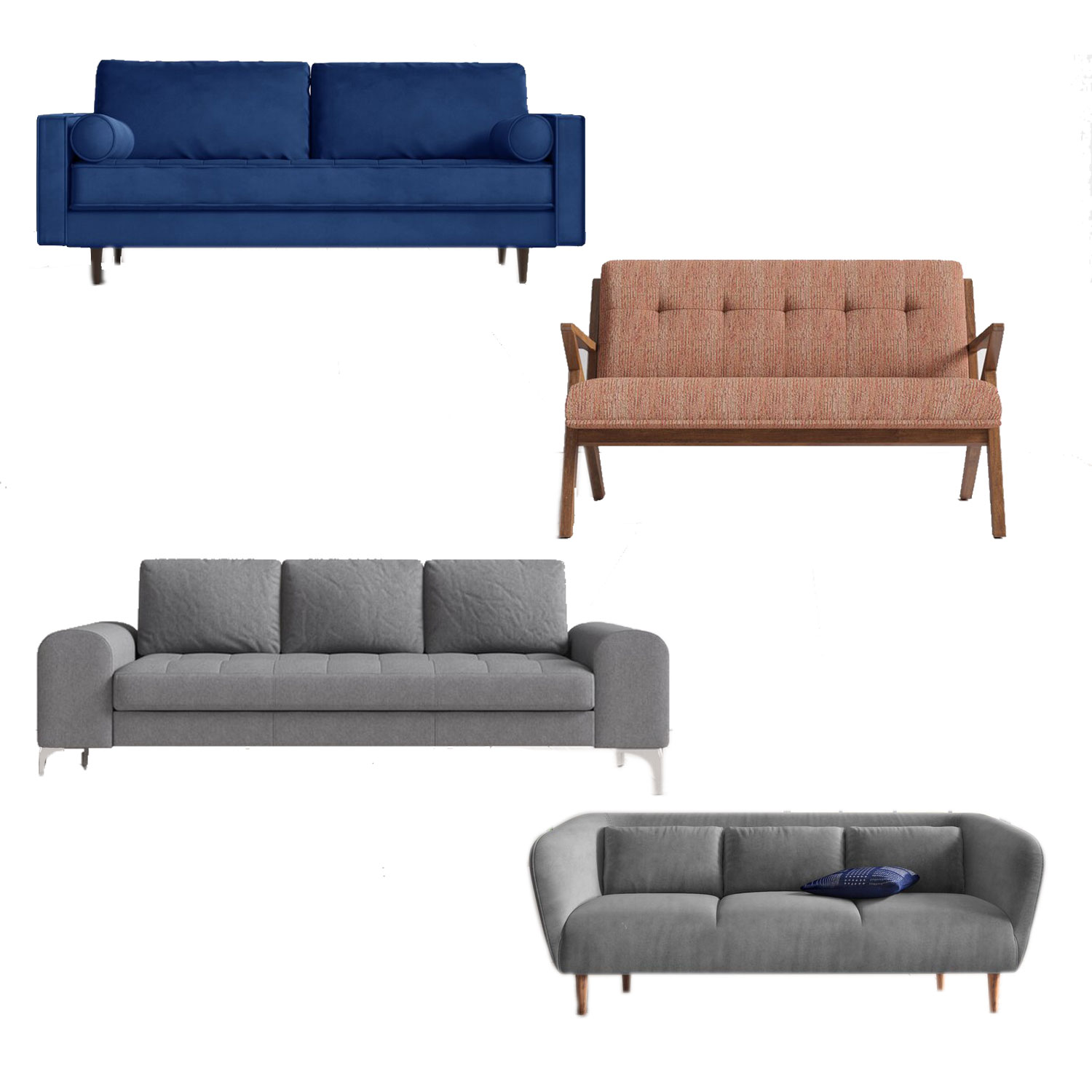 emmett couch, ravi couch, tess couch, marg sofa