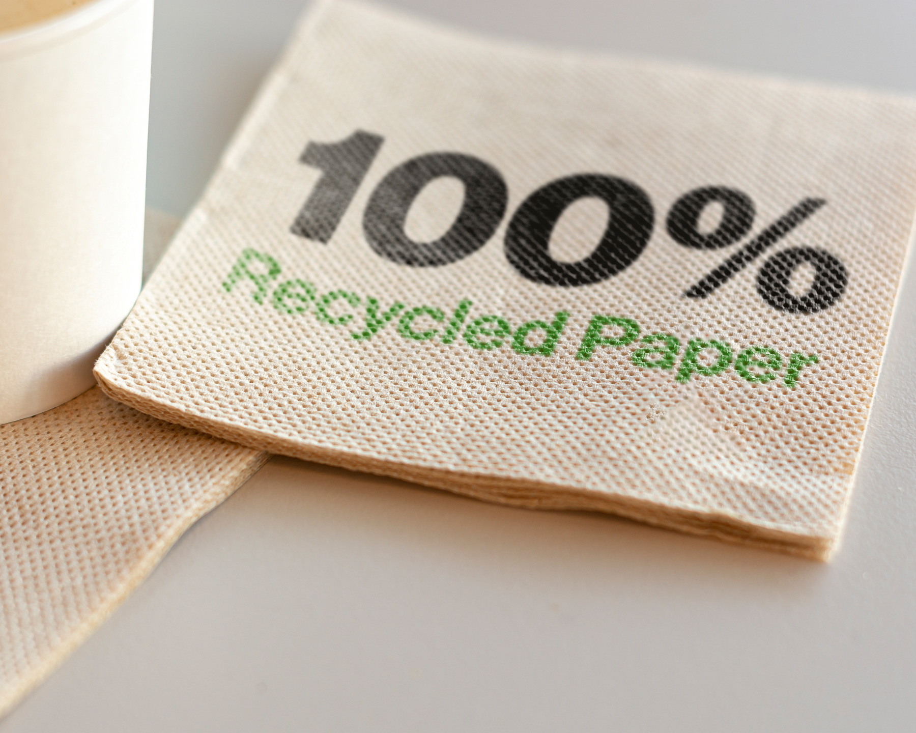 How to Save Water at Home: buy recycled paper products