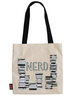 Book Nerd Tote Bag Gift for Reader