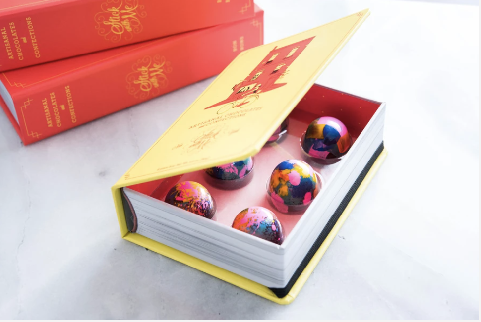Chocolate reader gift