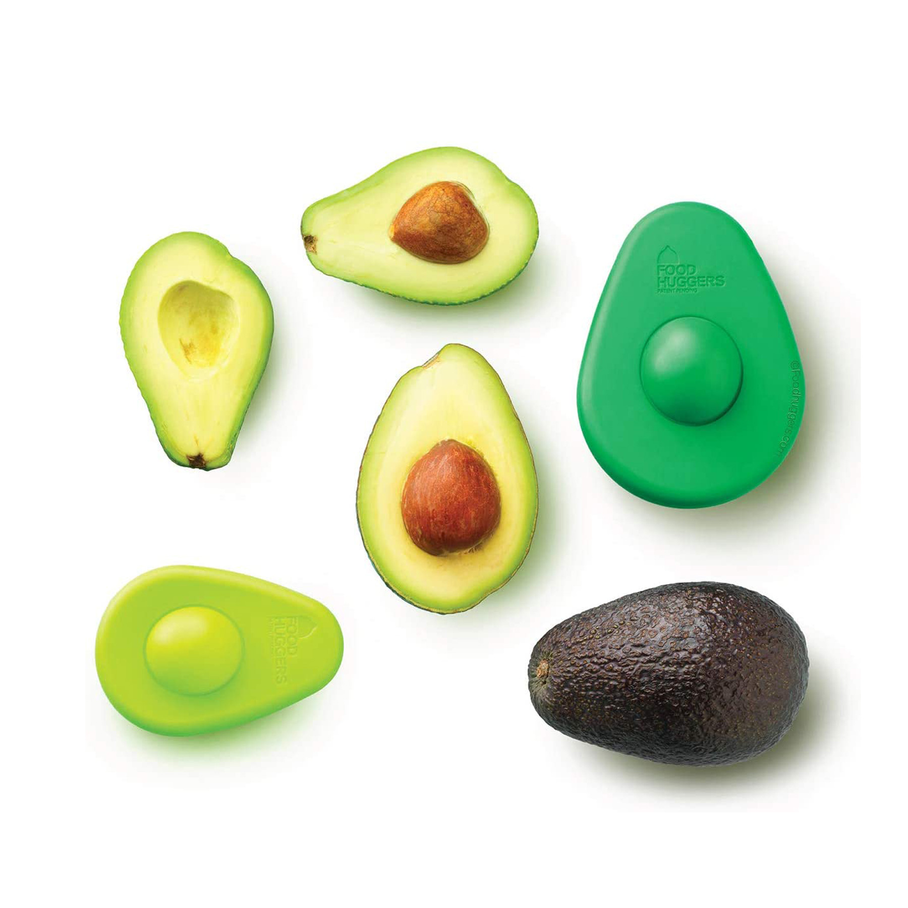 Cheap Christmas Gifts Under $25: Food Huggers Avocado Huggers silicone lids