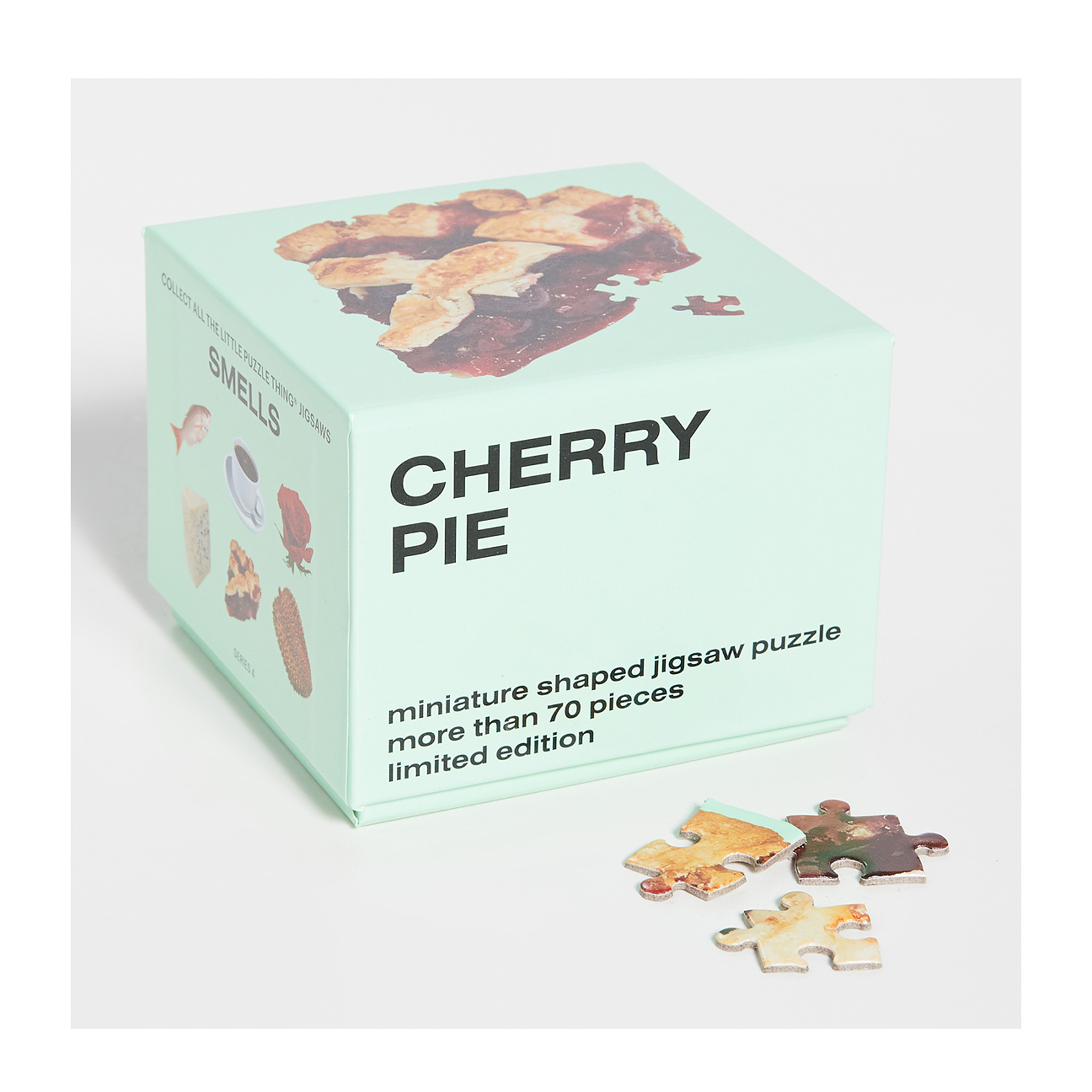 Cheap Christmas Gifts Under $25: Areaware mini puzzle Cherry Pie