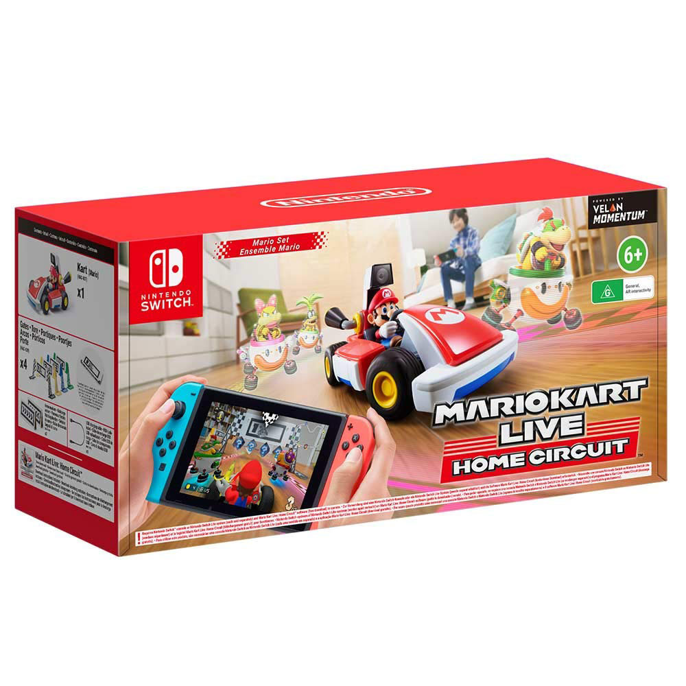 Gifts for kids, ideas - Mario Kart Live: Home Circuit