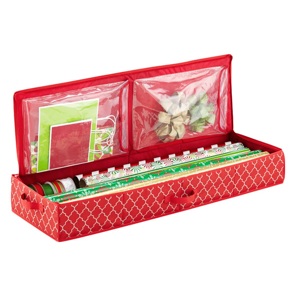 Holiday Wrapping Paper Storage Box