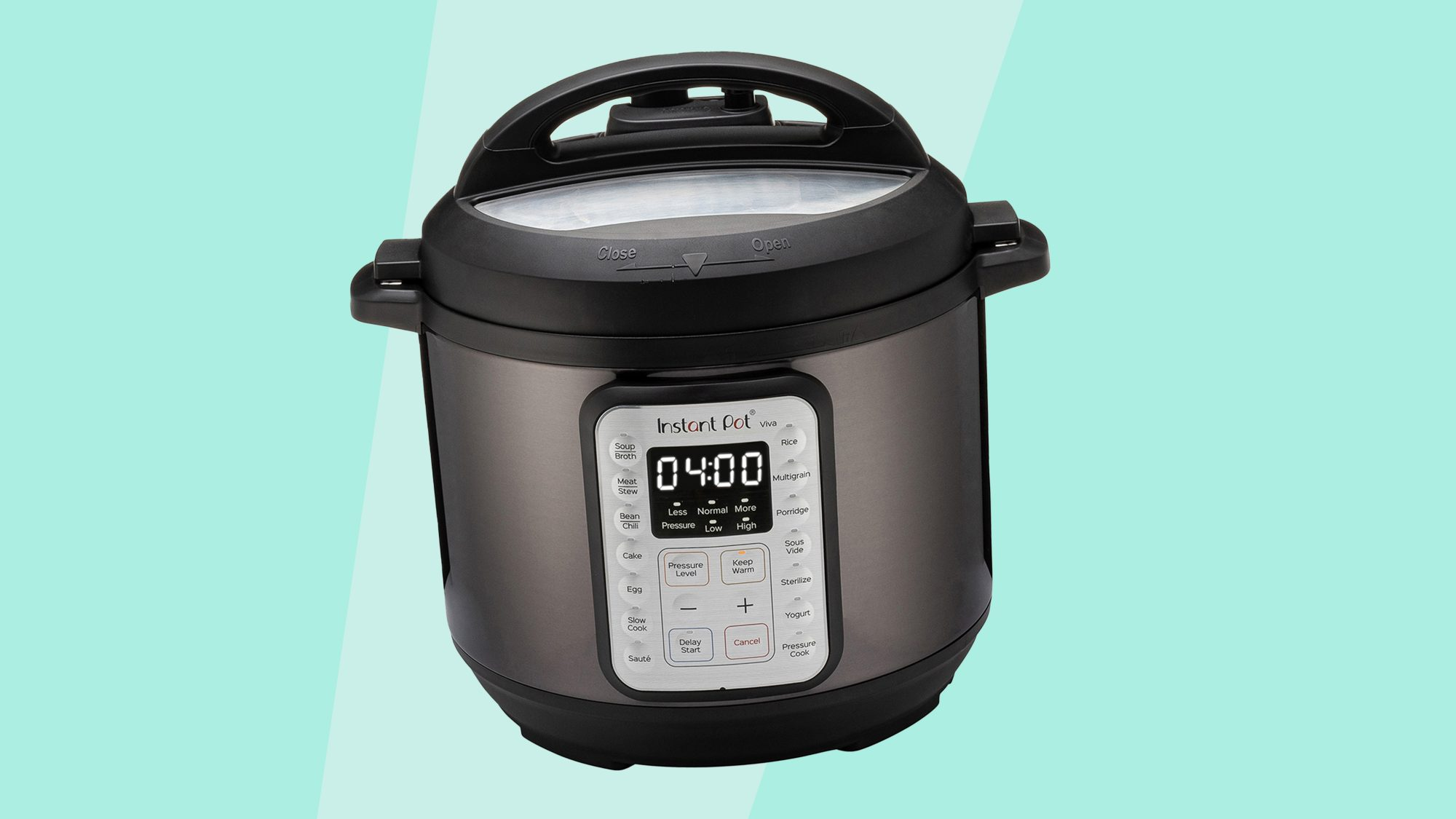 Instant Pot VIVA Black Stainless 6-Quart 9-in-1 Multi-Use Programmable Pressure Cooker, Slow Cooker, Rice Cooker, Yogurt Maker, Cake Maker, Egg Cooker, Sauté, with Sous Vide and Sterilizer Instant Pot VIVA Black Stainless 6-Quart 9-in-1 Multi-Use Programmable Pressure Cooker, Slow Cooker, Rice Cooker, Yogurt Maker, Cake Maker, Egg Cooker, Sauté, with Sous Vide and Sterilizer Instant Pot VIVA Black Stainless 6-Quart 9-in-1 Multi-Use Programmable Pressure Cooker, Slow Cooker, Rice Cooker, Yogurt Maker, Cake Maker, Egg Cooker, Sauté, with Sous Vide and Sterilizer Instant Pot VIVA Black Stainless 6-Quart 9-in-1 Multi-Use Programmable Pressure Cooker, Slow Cooker, Rice Cooker, Yogurt Maker, Cake Maker, Egg Cooker, Sauté, with Sous Vide and Sterilizer Instant Pot VIVA Black Stainless 6-Quart 9-in-1 Multi-Use Programmable Pressure Cooker, Slow Cooker, Rice Cooker, Yogurt Maker, Cake Maker, Egg Cooker, Sauté, with Sous Vide and Sterilizer  Report incorrect product information Instant Pot Instant Pot VIVA Black Stainless 6-Quart 9-in-1 Multi-Use Programmable Pressure Cooker