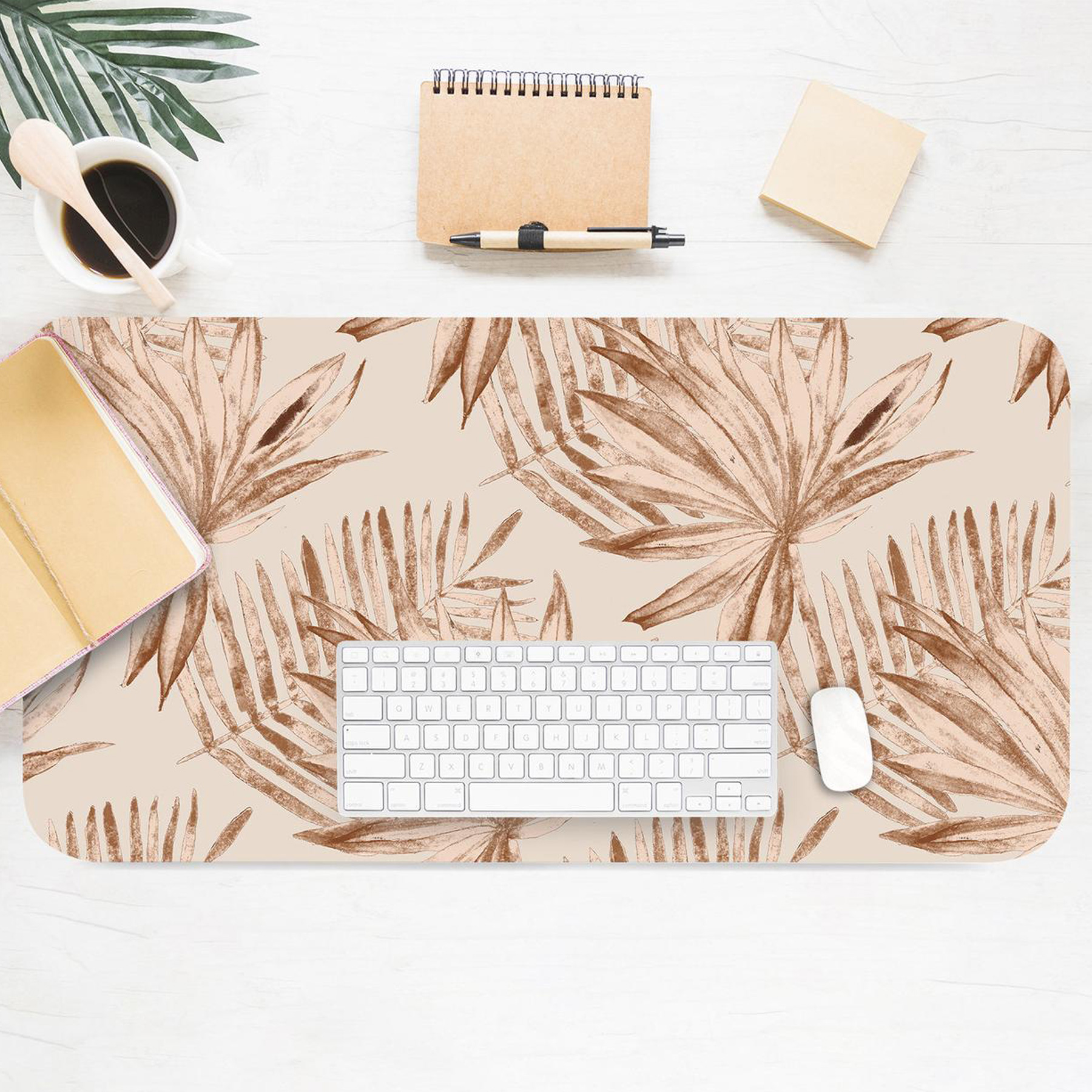 Gifts for Employees, Coworkers, and Bosses 2020: Etsy palm leaf desk pad