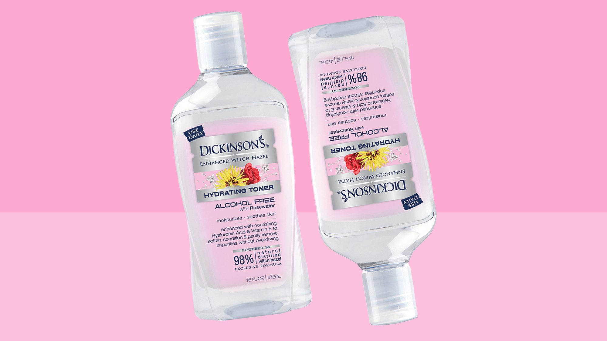 Dickinson's Enhanced Witch Hazel Hydrating Toner with Rosewater