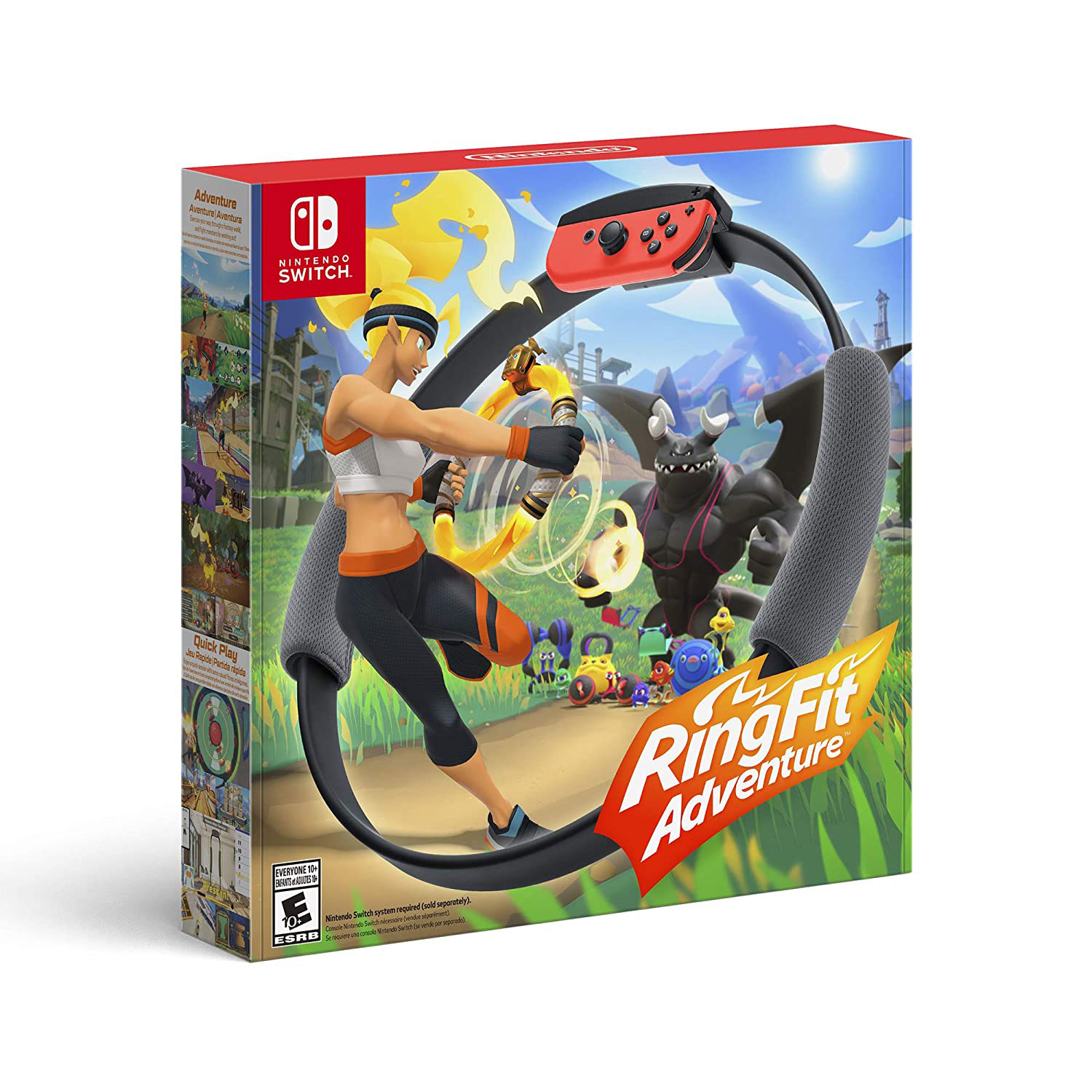 Best gifts for women or her - For the Energetic Gamer: Nintendo Ring Fit Adventure