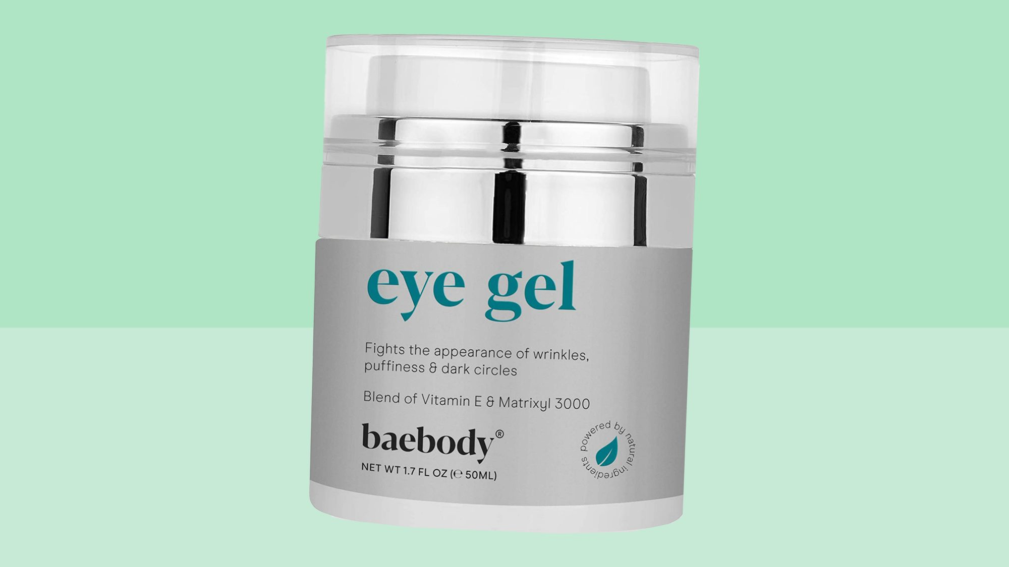 Baebody Eye Gel for Under and Around Eyes to Smooth Fine Lines