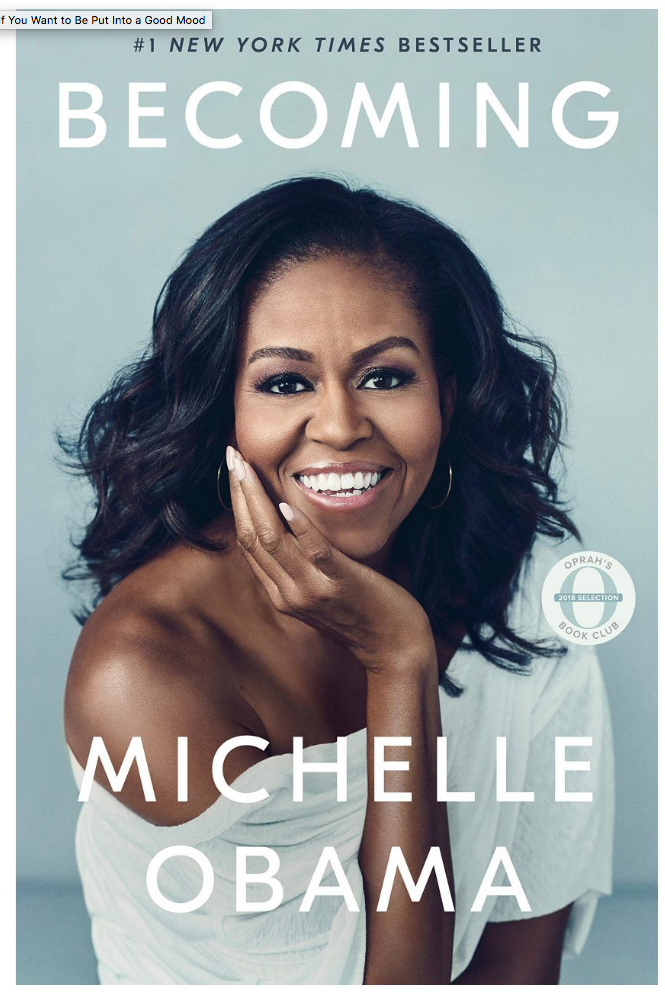 Becoming by Michelle Obama book cover