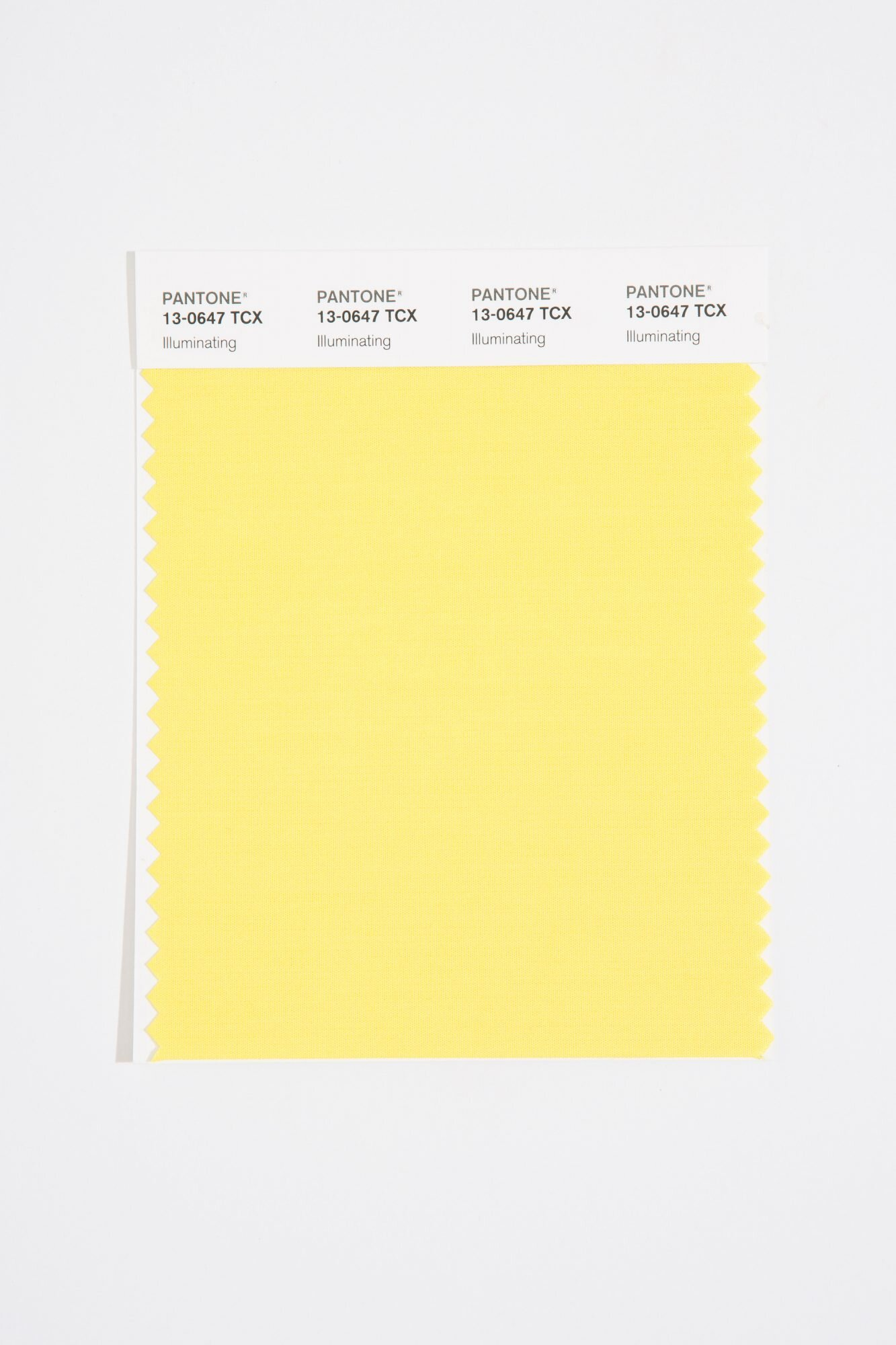 Pantone Color of the Year 2021 Illuminating Yellow