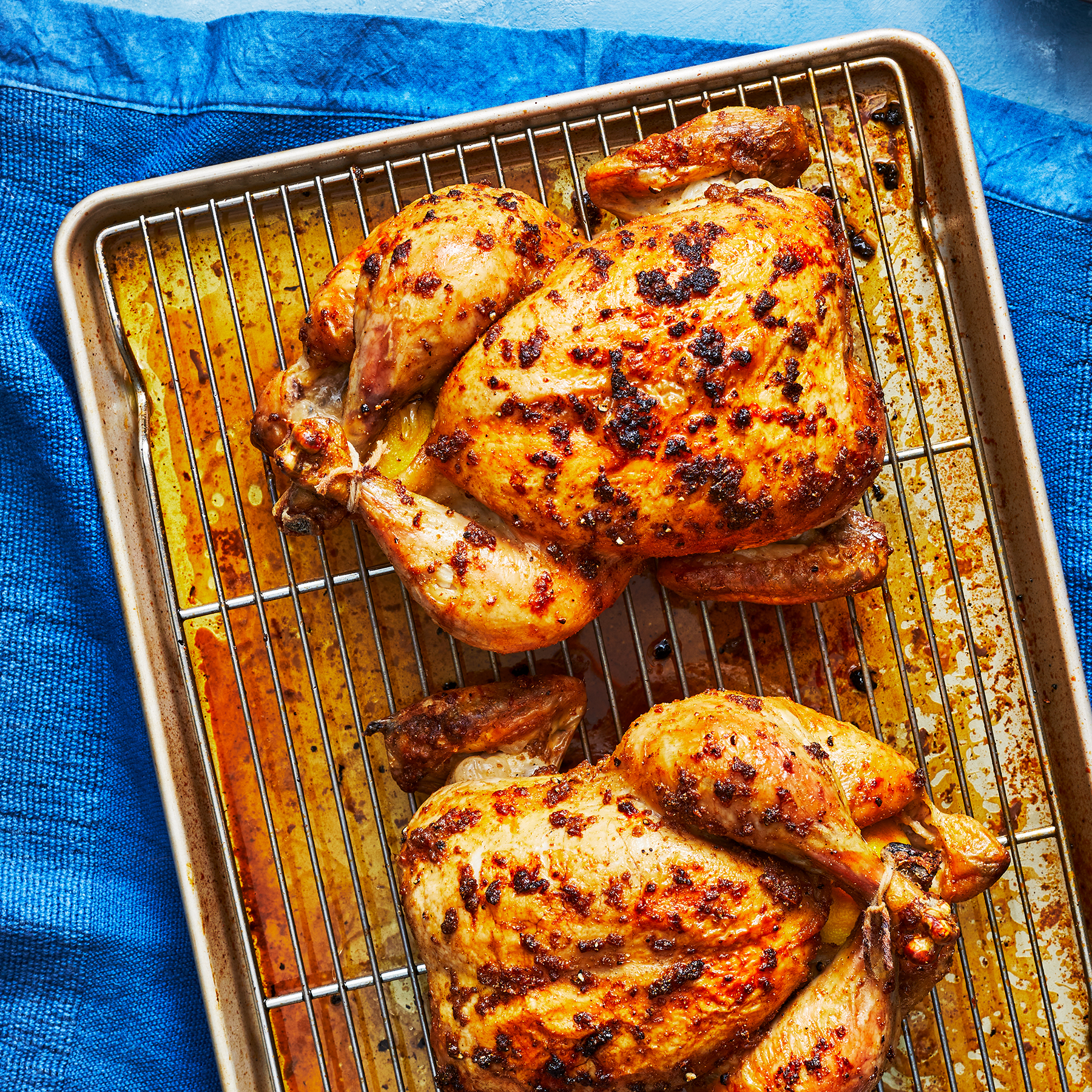 Double Roasted Chicken Recipe