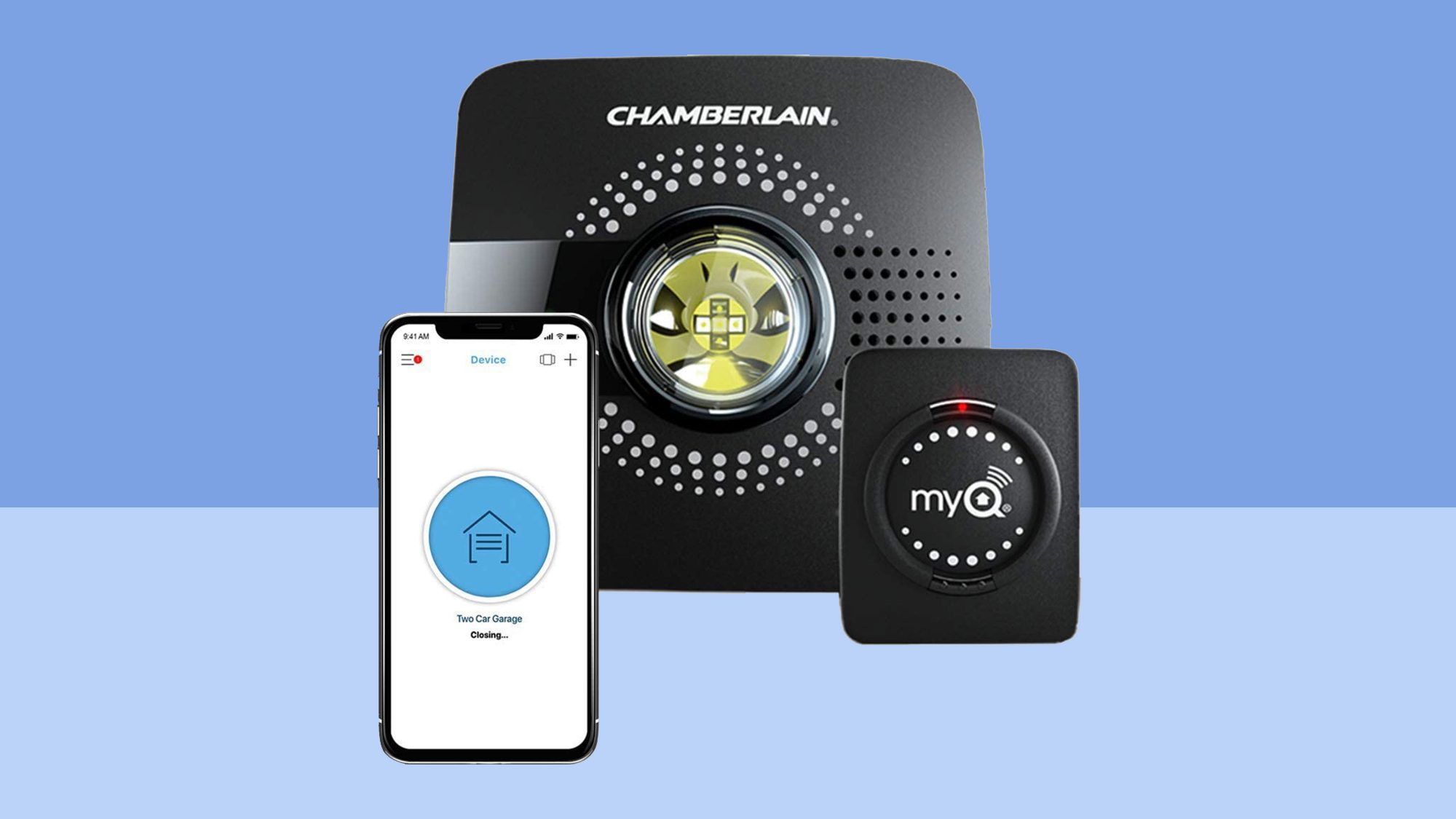 my q smart garage door opener