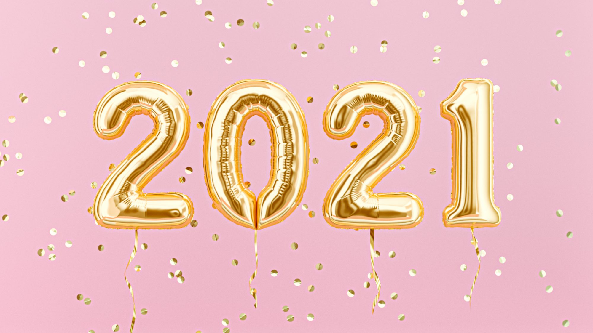 New years quotes, sayings, captions - 2021 balloons