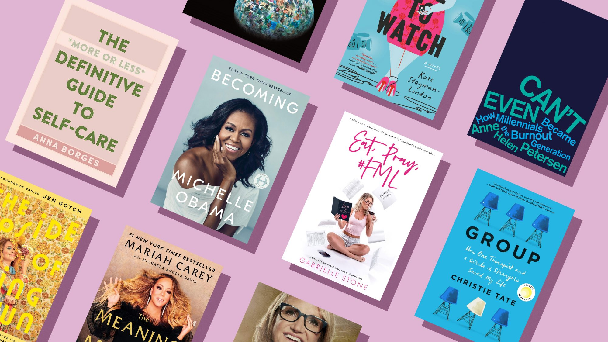 10 Self-Care Books to Read When You're Busy and Stressed
