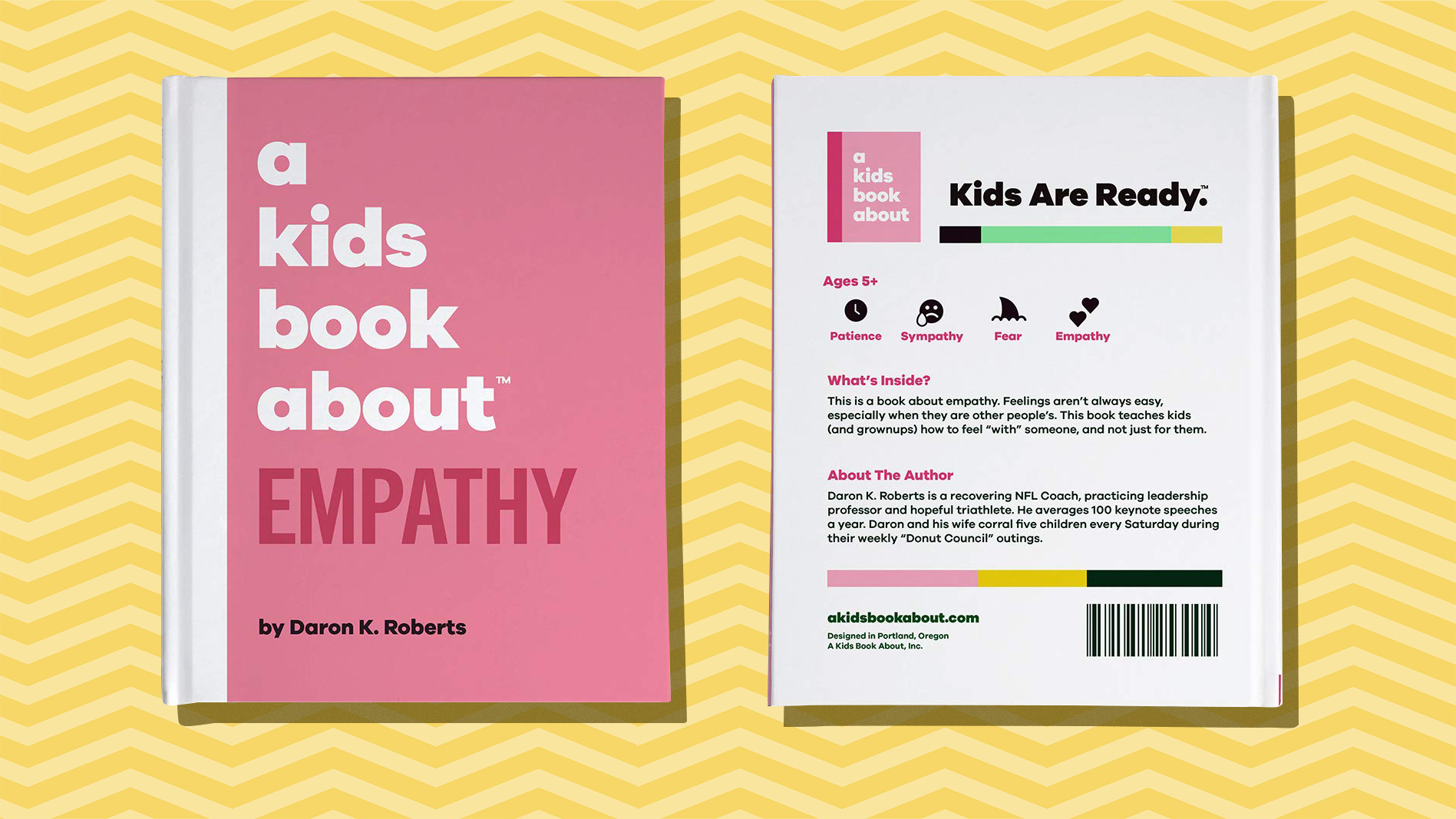 Best gifts for kids - empathy book on yellow background tout