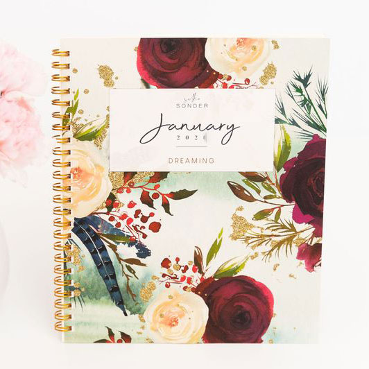 Best weekly, daily, monthly planners - Silk + Sonder Monthly Subscription