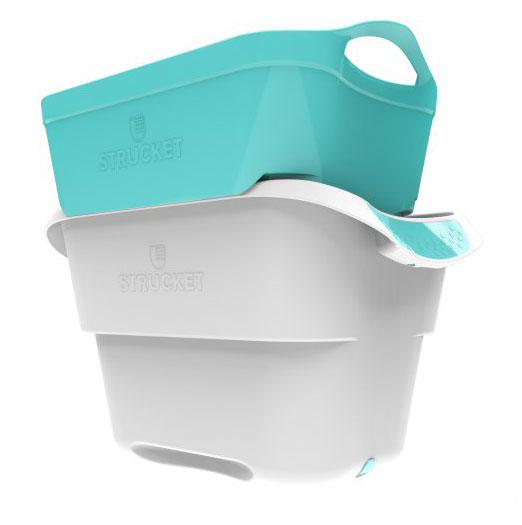 6 Clever Items (1/15/21) - Strucket Laundry Hand Washing Strainer Bucket