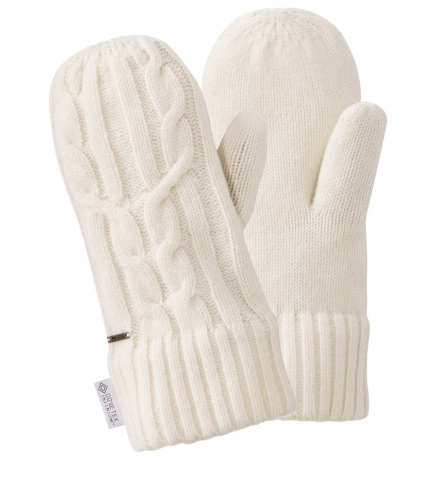 LLBean mittens for cold weather