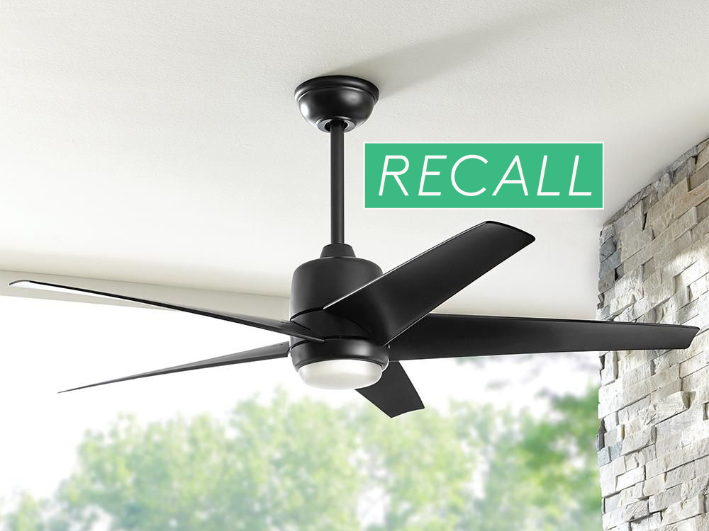 Ceiling Fans Sold At Home Depot Recalled After Reports Of Blades Flying Off Real Simple