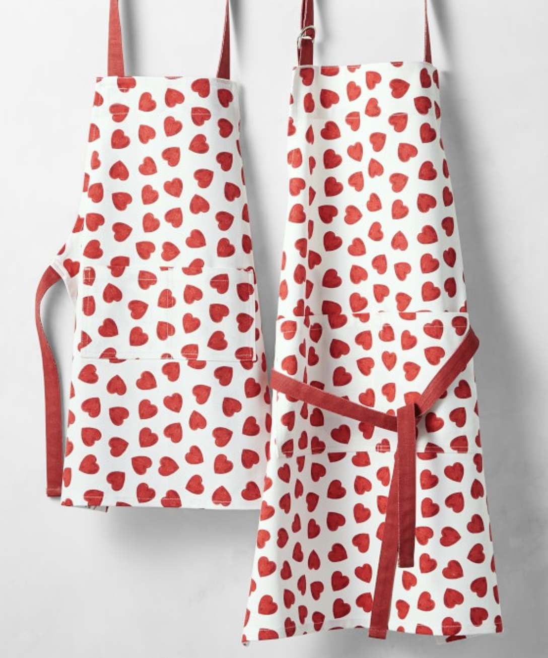 Heart Apron for Valentine's Day Gift for Kids