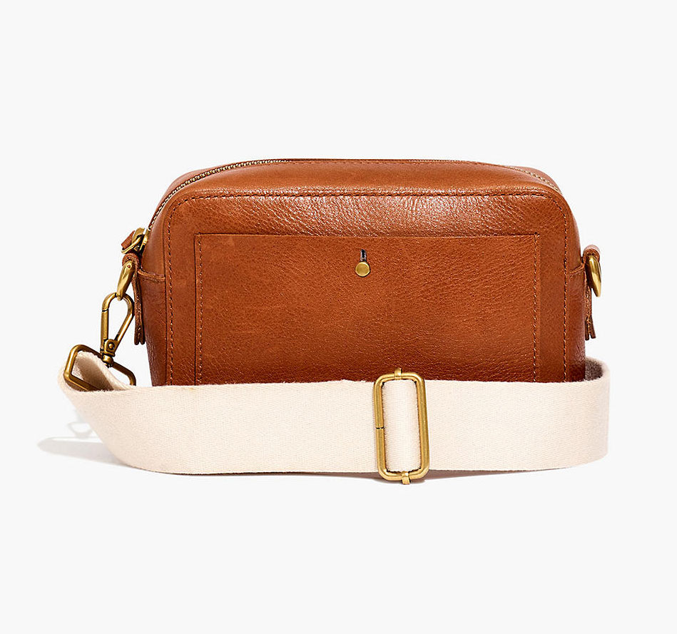 Valentine's Day gifts for her, wife, girlfriend - Madewell Transport Camera Bag