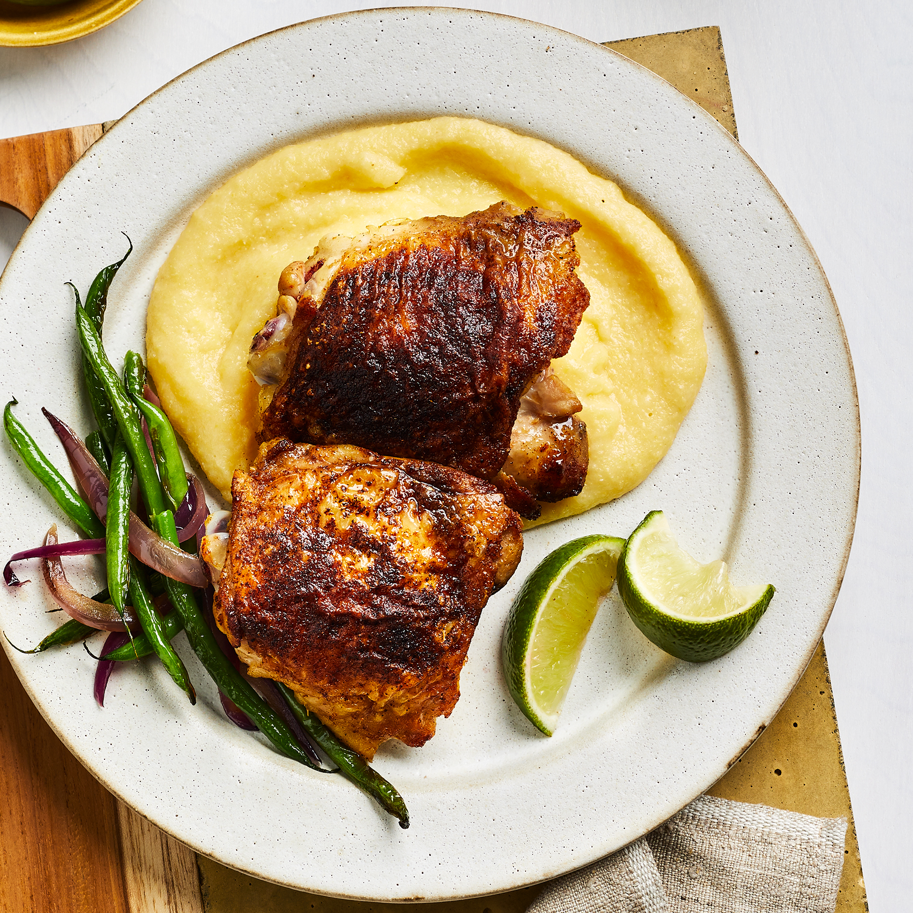 Spicy Berbere Chicken Thighs