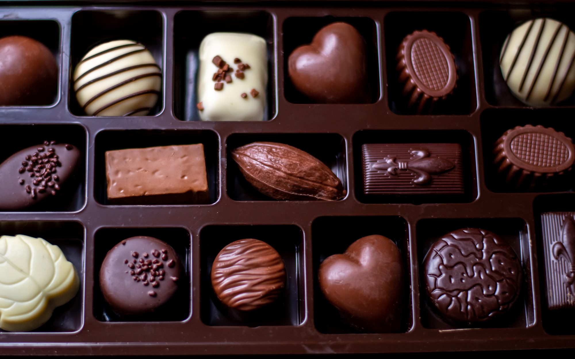Chocolate box guide - what's inside a box of chocolates and how to tell