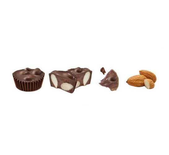 Chocolate box guide - types of chocolates (nut candies)