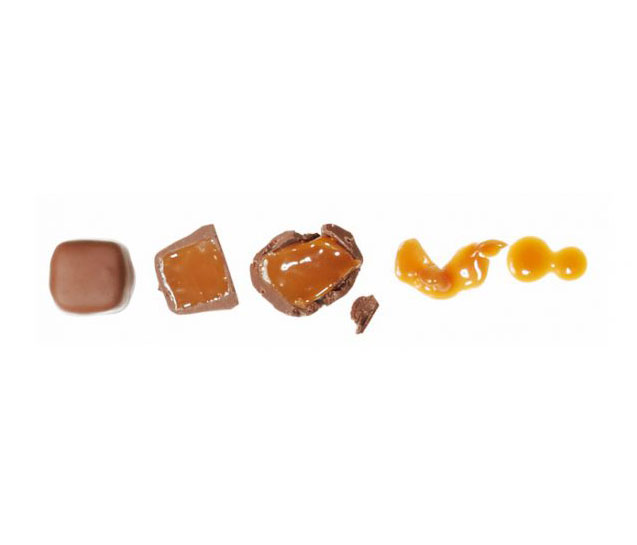Chocolate box guide - types of chocolates (toffee or caramel-filled chocolates)