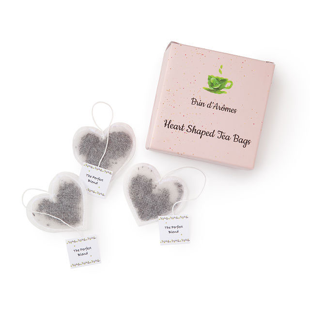 Galentine's Day gift ideas - Heart-Shaped Tea Bags
