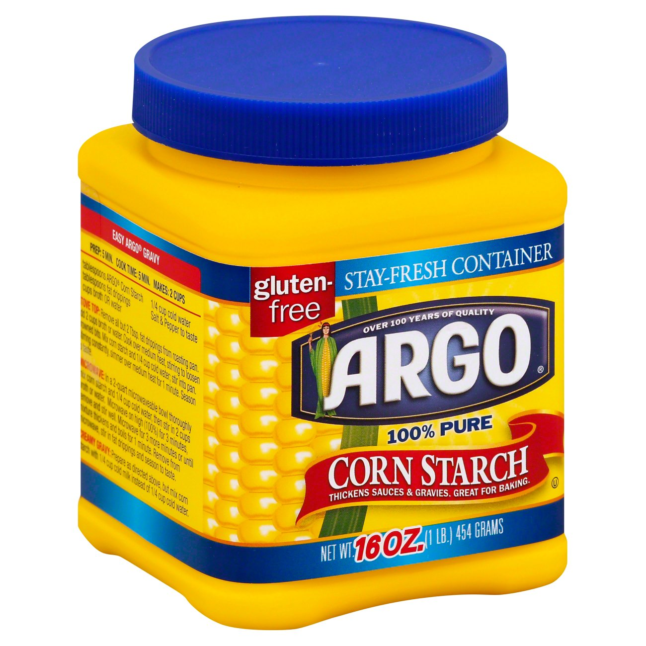 Professional Cleaners Secrets, Corn Starch