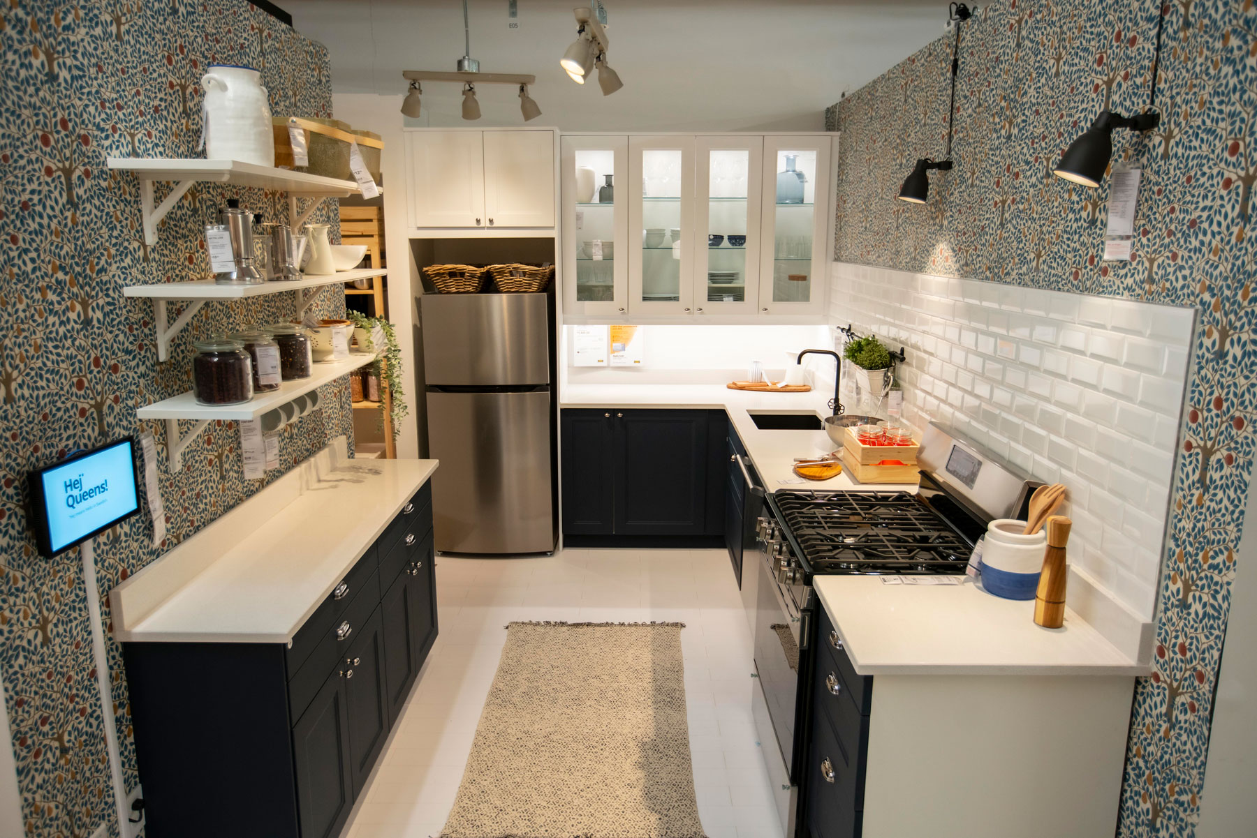 IKEA queens small store - kitchen