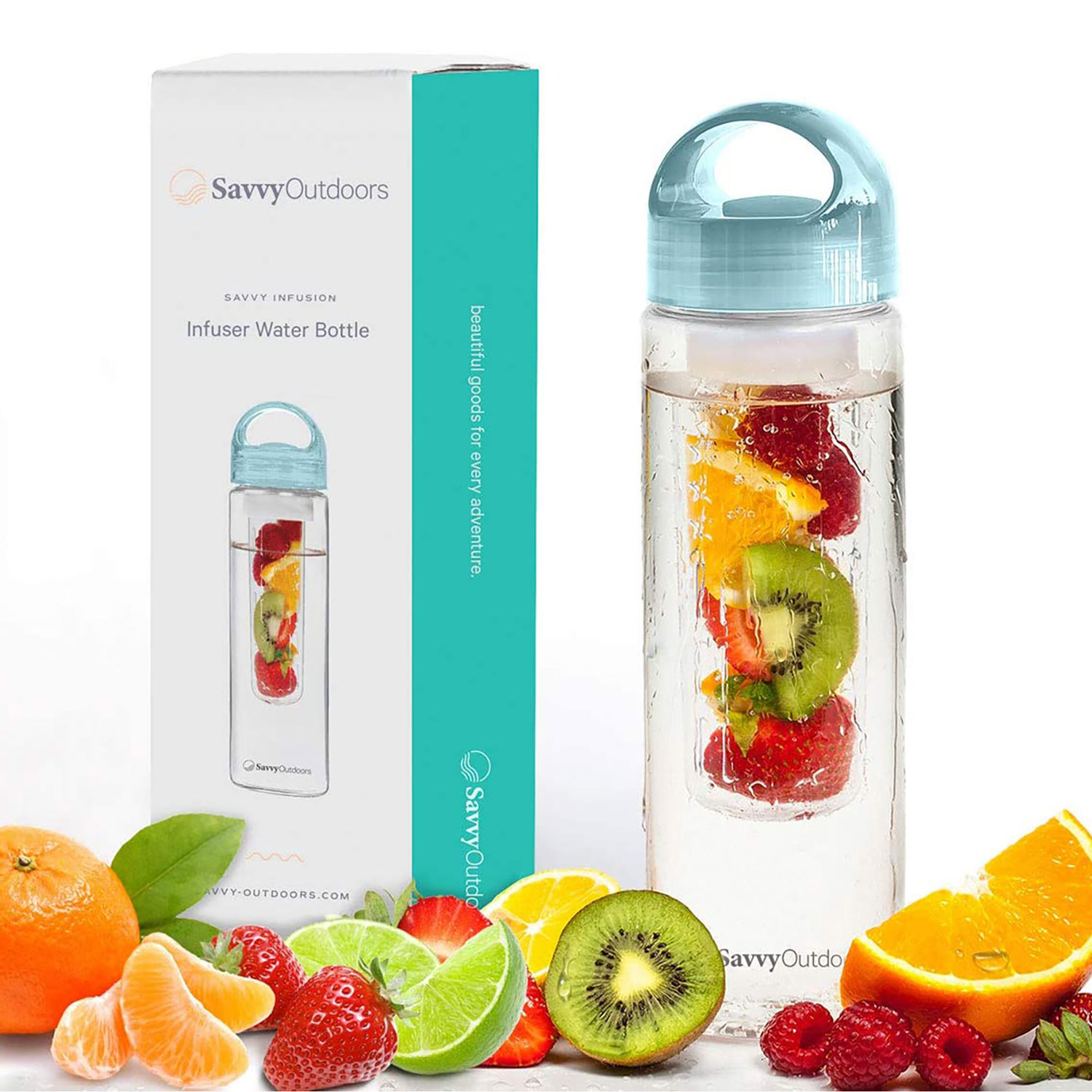 Savvy Outdoors infusion water bottle