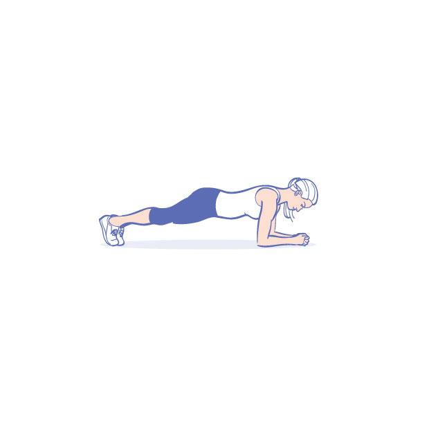 Bodyweight exercises - Forearm plank