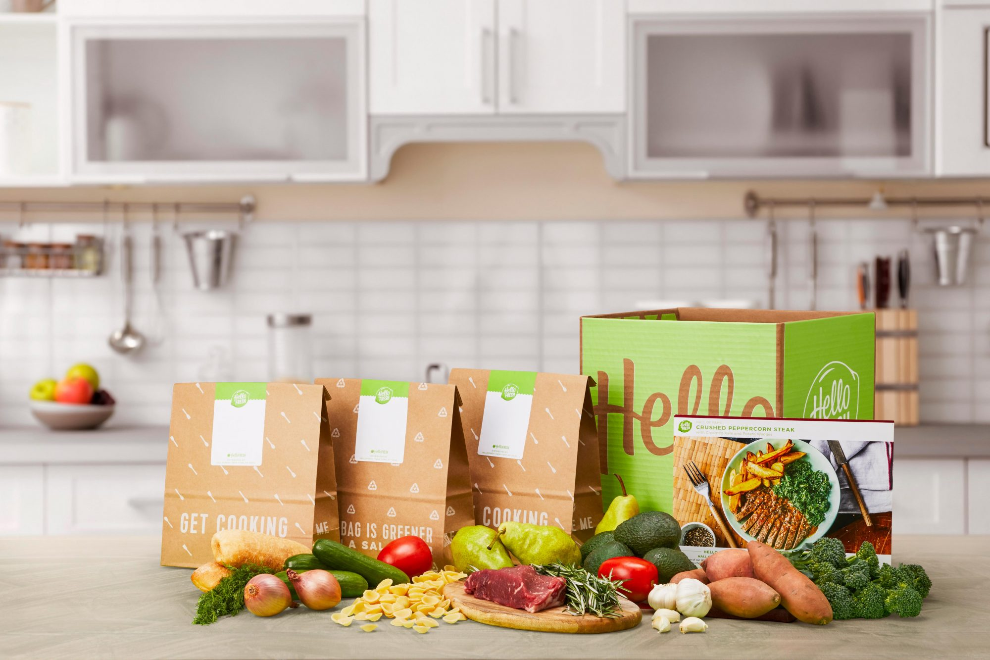 Best Delivery Food Box Subscriptions: Hello Fresh