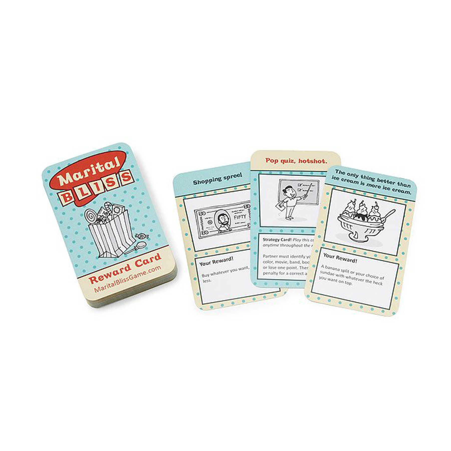 Funny Valentine's Day Gifts: Marital Bliss Game uncommon goods