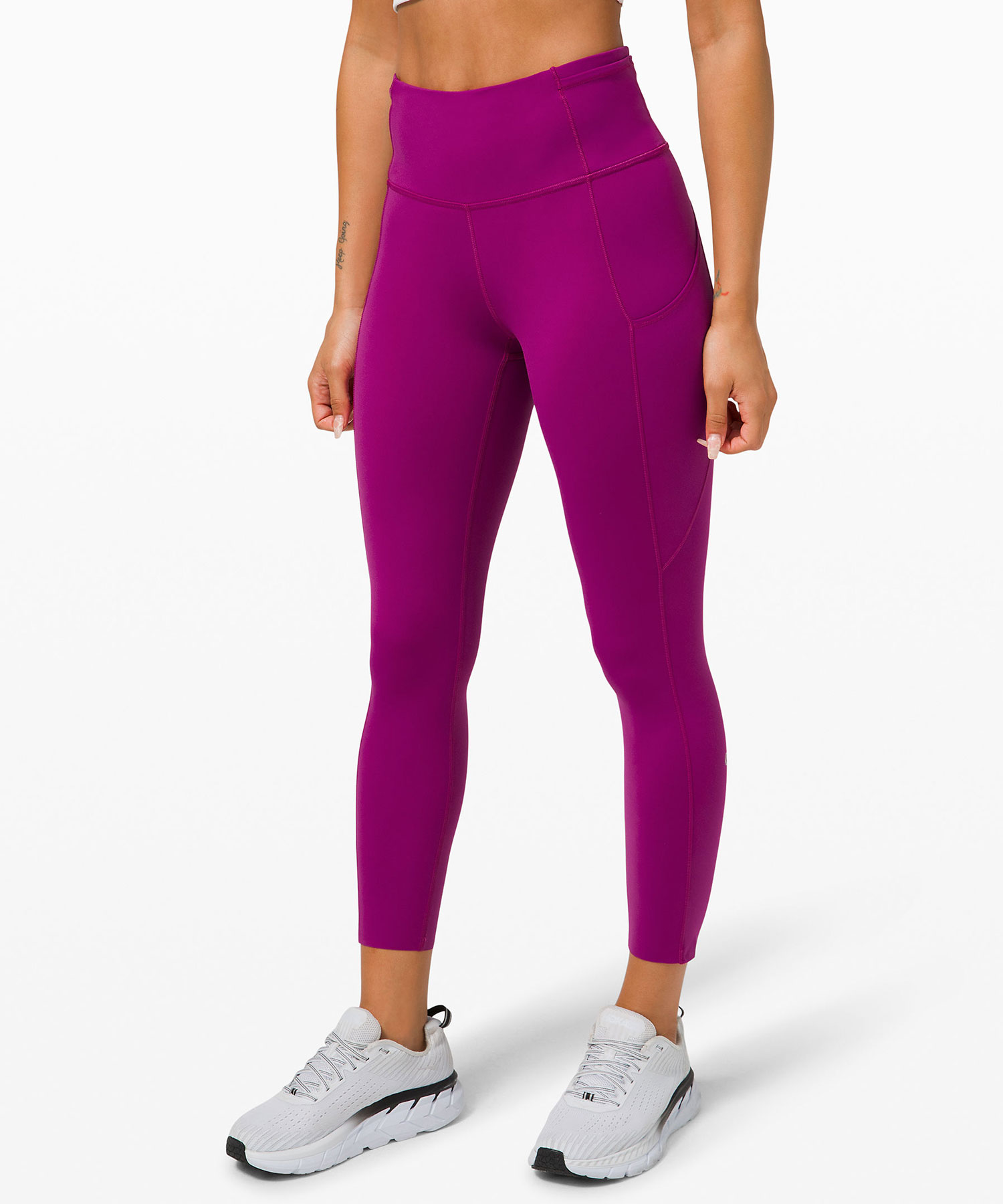 Best gifts, gift ideas for women - For the Active Rester: Lululemon Fast and Free High-Rise Crop II