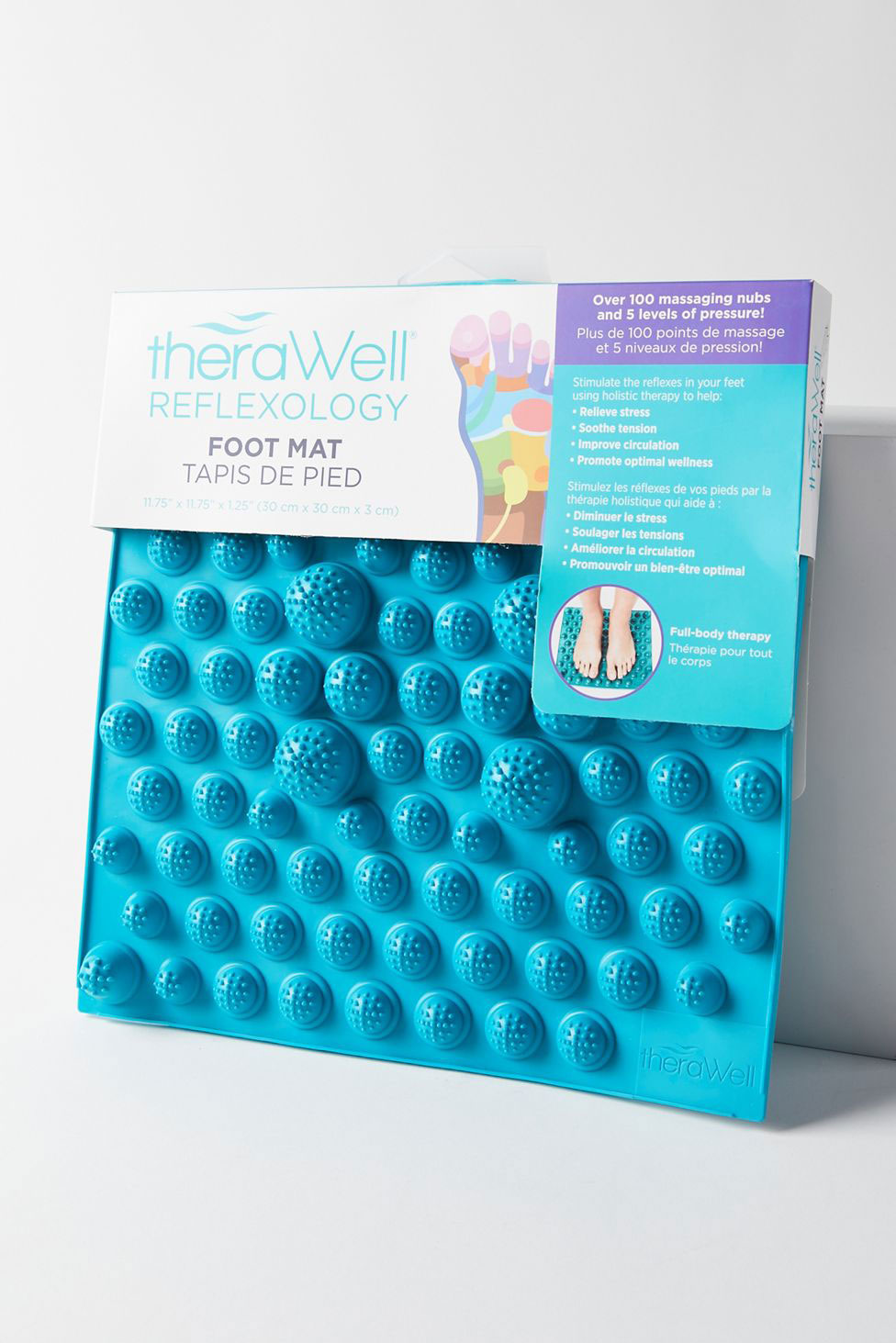 6 Clever Items (1/29/21) - Therawell Reflexology Foot Mat