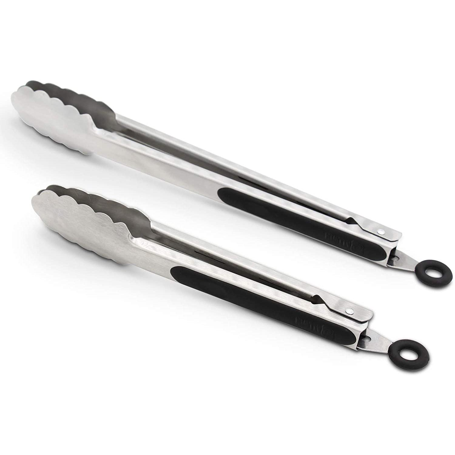 304 Stainless Steel Kitchen Cooking Tongs