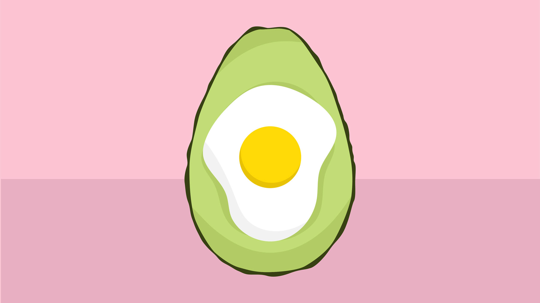 Baked Avocado Egg Cup