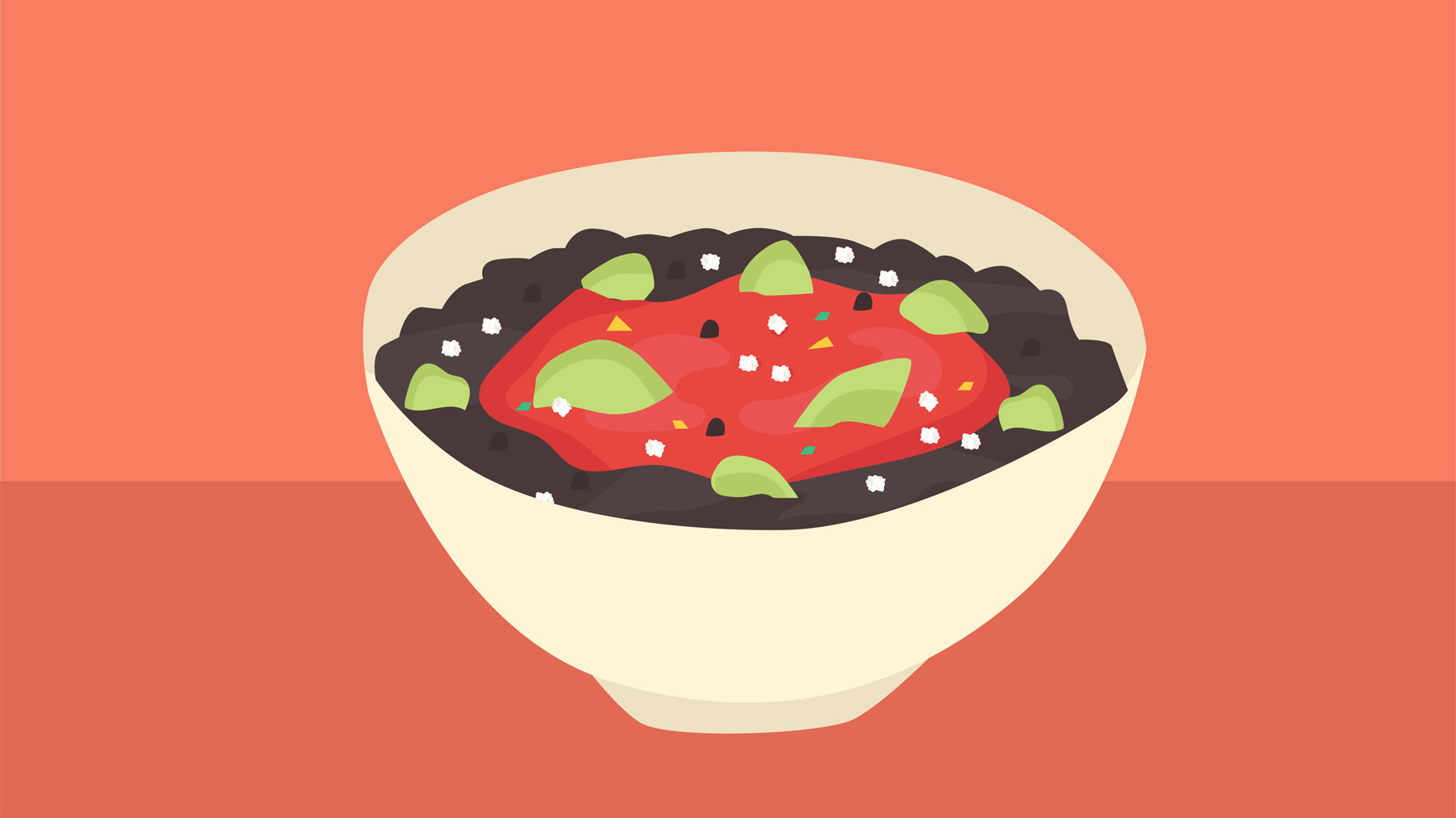 Black Bean and Avocado Bowl recipe