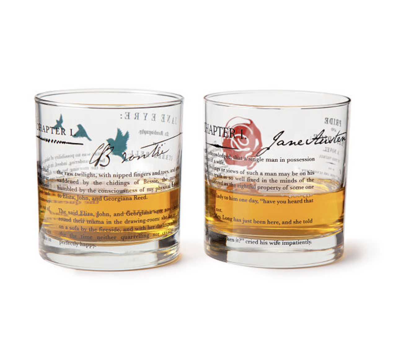 Feminist Shot Glasses Gifts for Readers