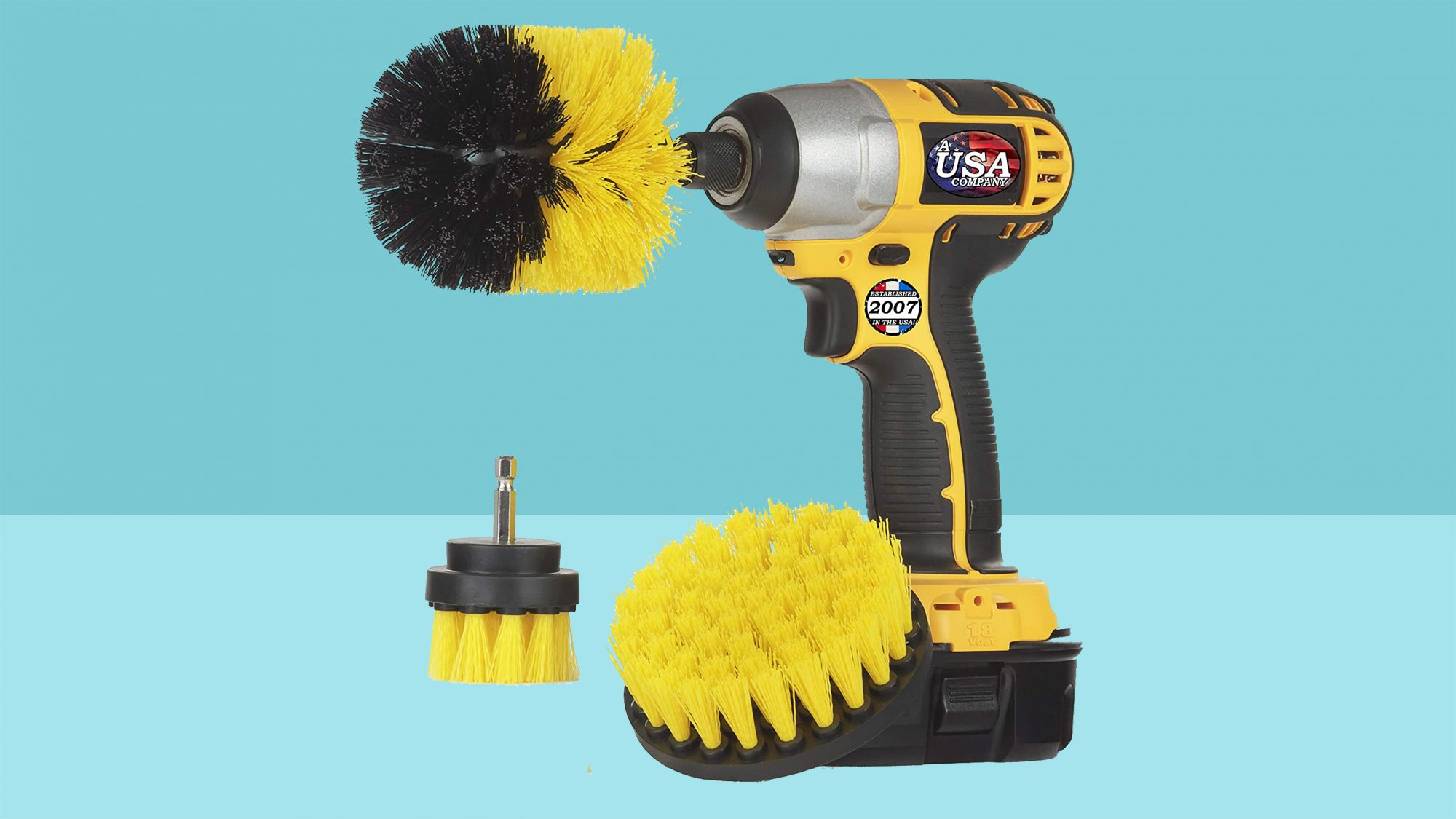 best cleaning organization amazon deals - drill brush