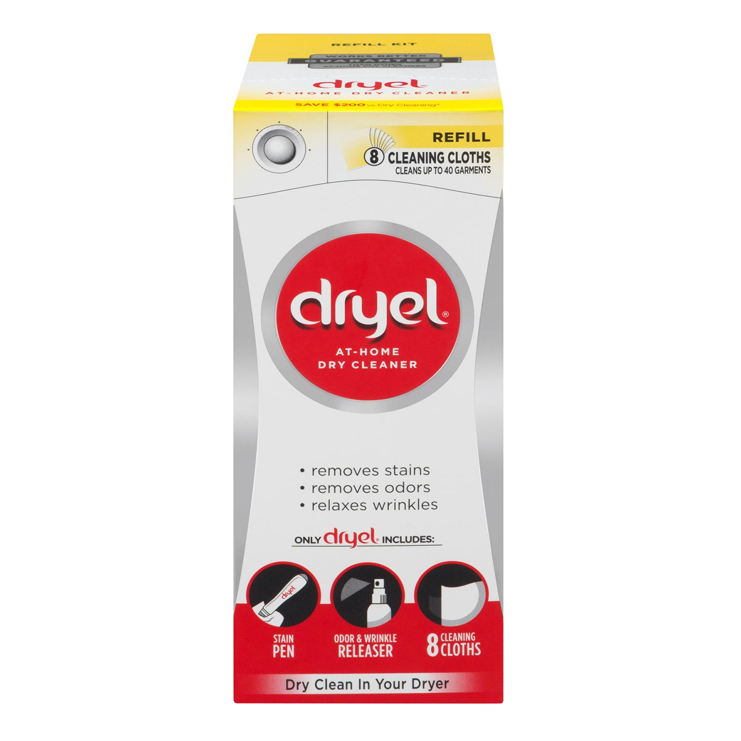 Dryel At-Home Dry Cleaner Refill Kit