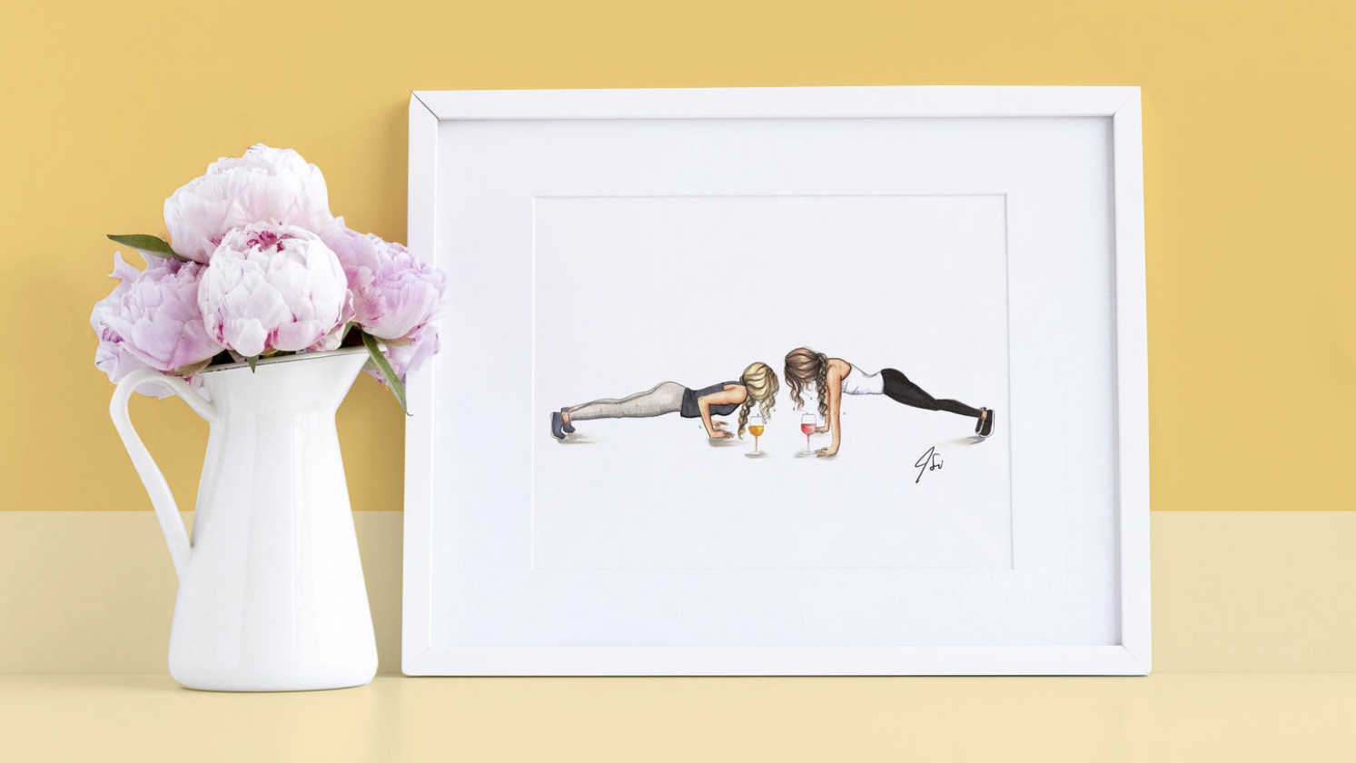 Galentine's Day gifts ideas - Melsy illustration tout