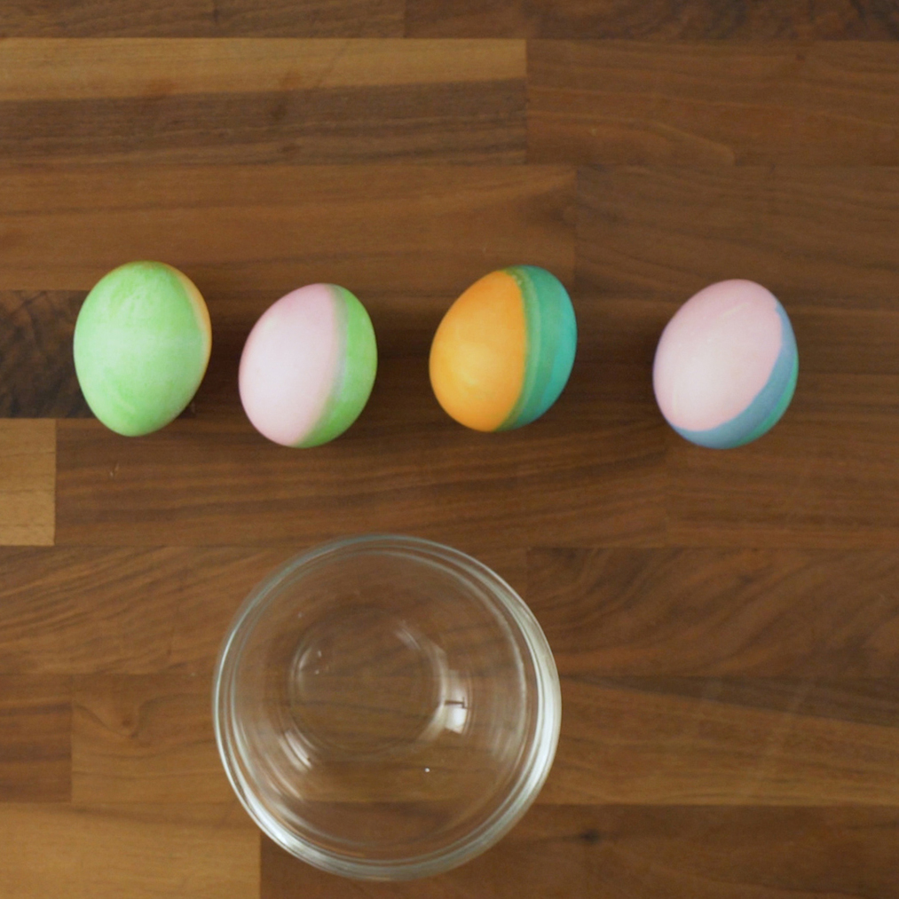 Dip-Dyed Easter Eggs