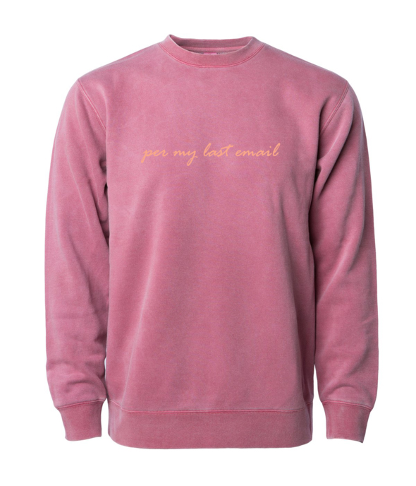Gifts for coworkers, employees, bosses - Email sweatshirt