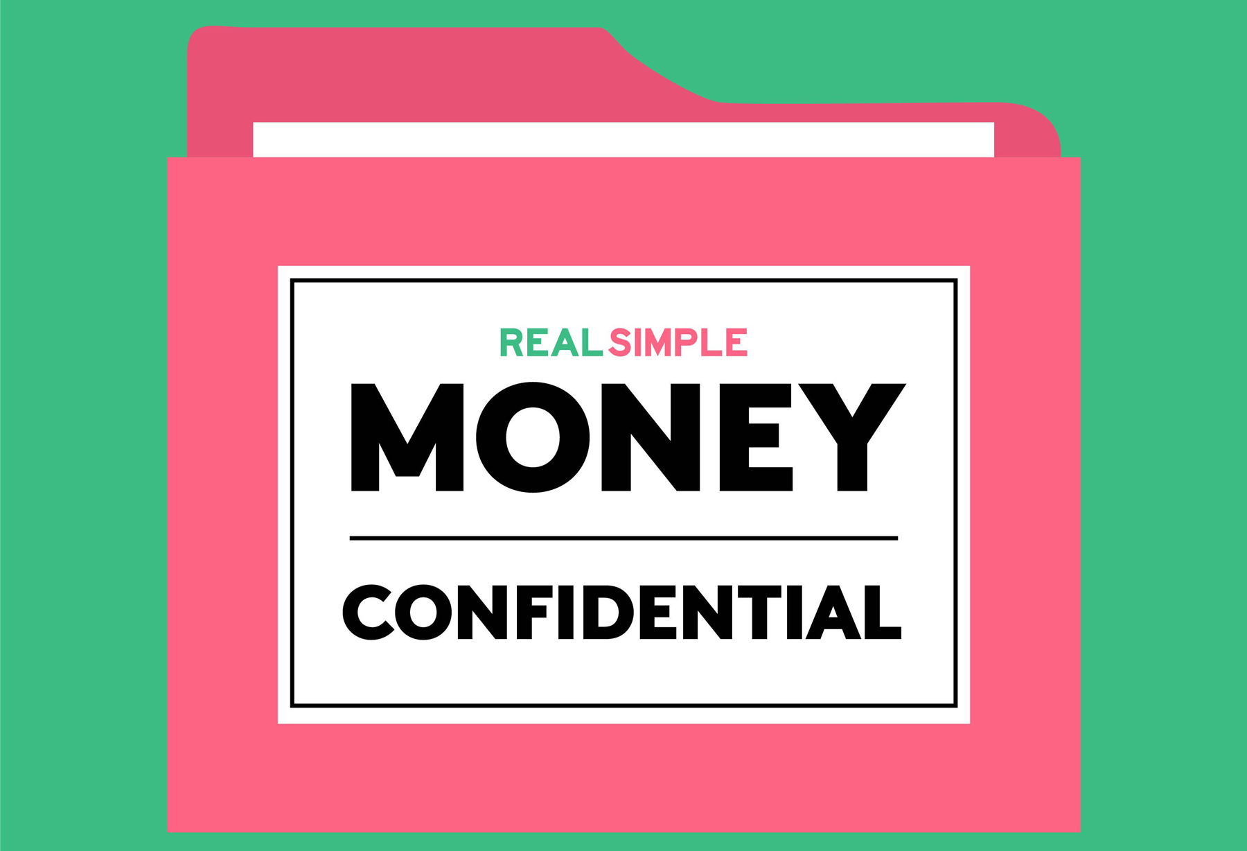 Real Simple Money Confidential podcast - logo