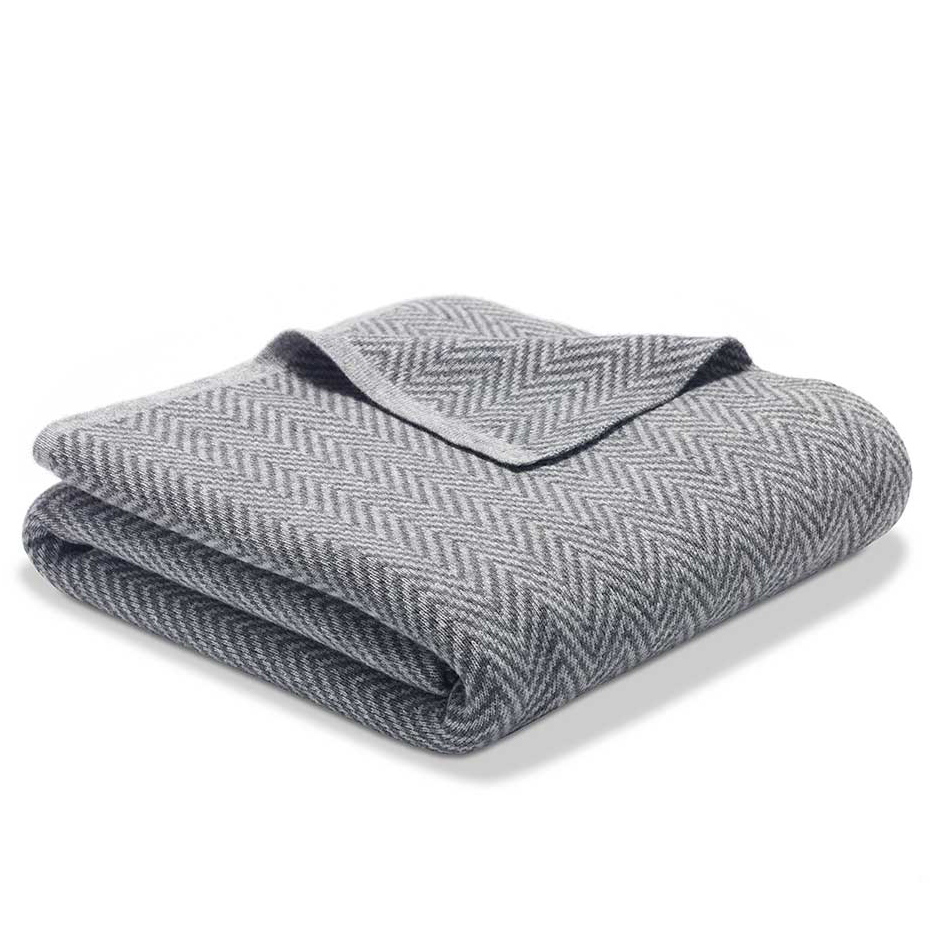 Valentine's Day gifts for her, wife, girlfriend - Riley Luxe Cashmere Wool Throw